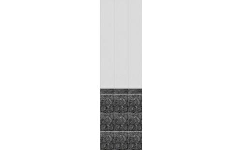 """АКВАТОН Панель ПВХ пласт. """"Фриз"""" Кардинал(Греция) Черный 2,7*0,25 (уп=12шт=8,1м2)"""