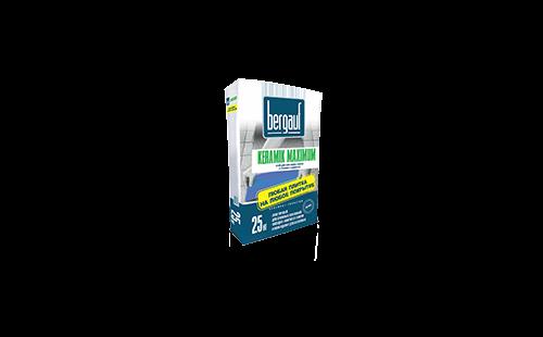 БЕРГАУФ Керамик Максимум клей для плитки, для сложных оснований (25кг)