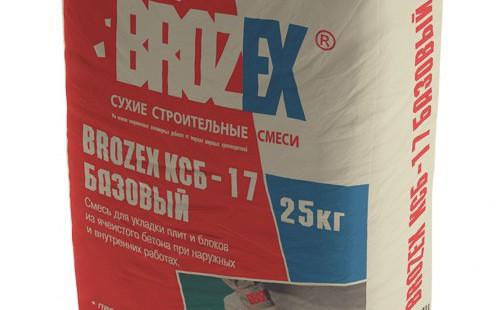 БРОЗЕКС клей для блоков КСБ-17 базовый (25кг)