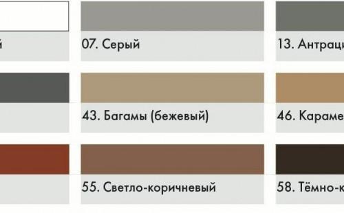 ЦЕРЕЗИТ CE43 Затирка для широких швов темно-коричневая (2кг)